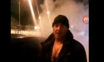 Якутии сожгли автомобиль предпринимателя, занимающегося отловом собак