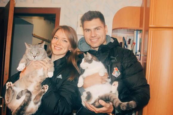 Максим Беляев спасает бездомных животных.